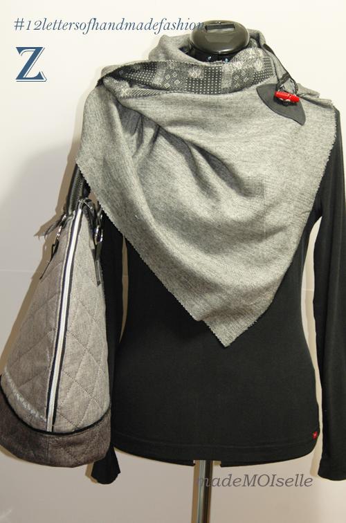 Lüttes Tuch mit Bogentasche