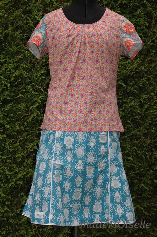 Kleid Ameland mit Rock Langeness
