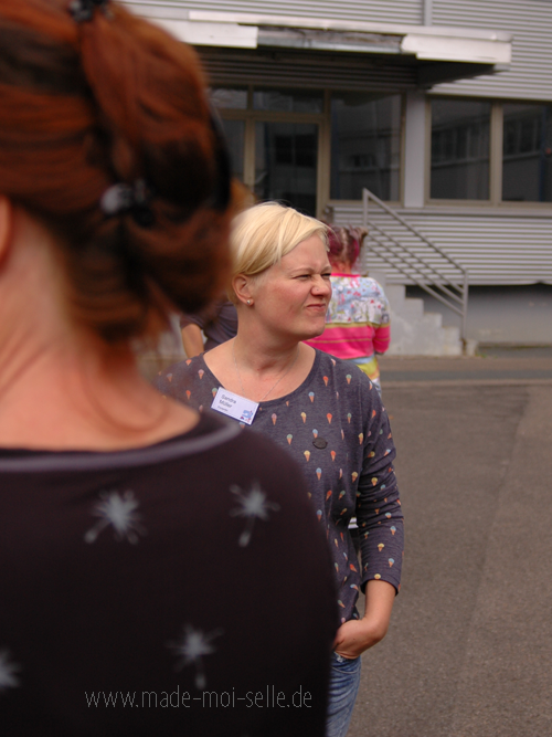 Lillestoff 2017 mit Katrin und Sandra