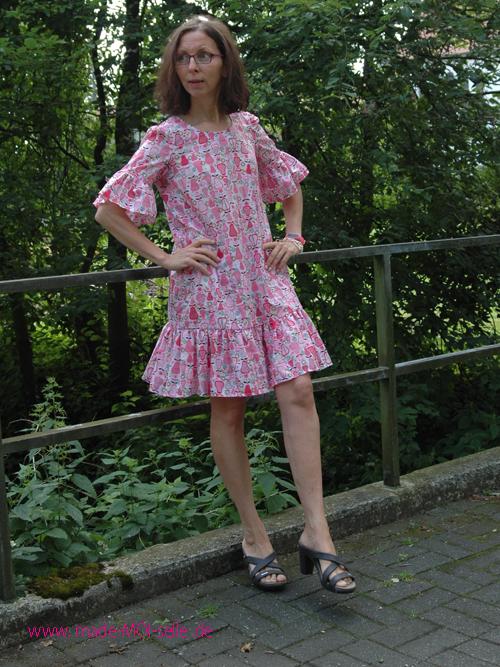 Burda romantisches Kleid