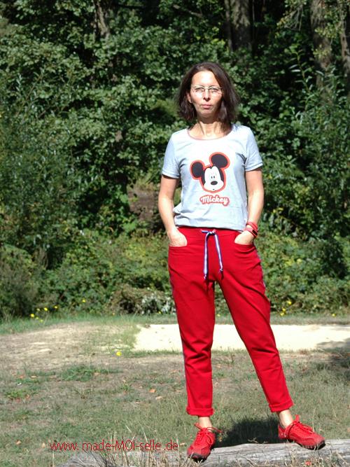 Maseike Shirt mit Joggingpants