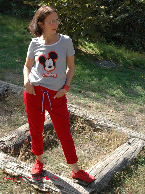 Maseike Shirt und Joggingpants