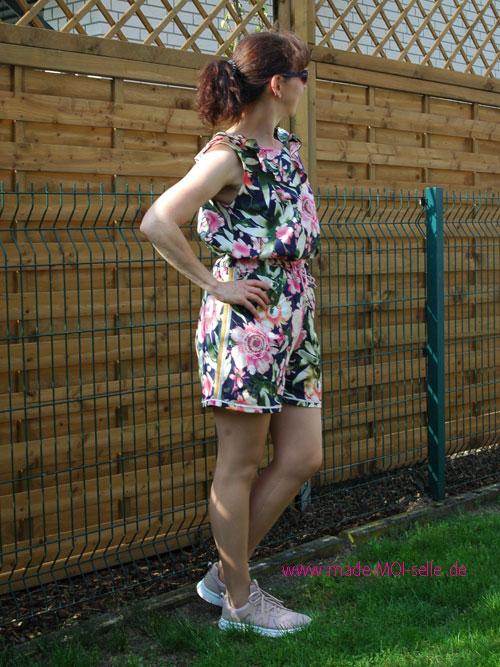 Bluse oder Top Karla mit schnellen Shorts