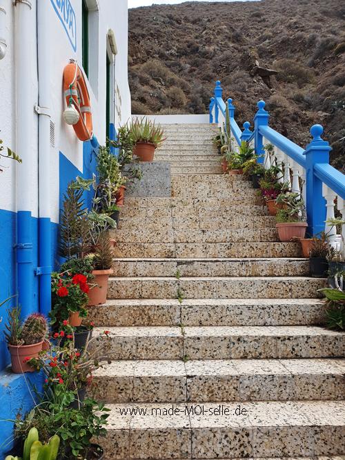 Treppe auf Teneriffa