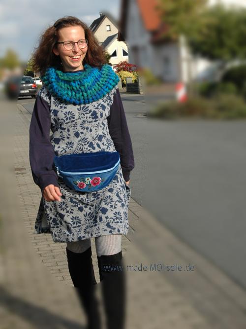 Sweater Vivi als Tunika verlängert