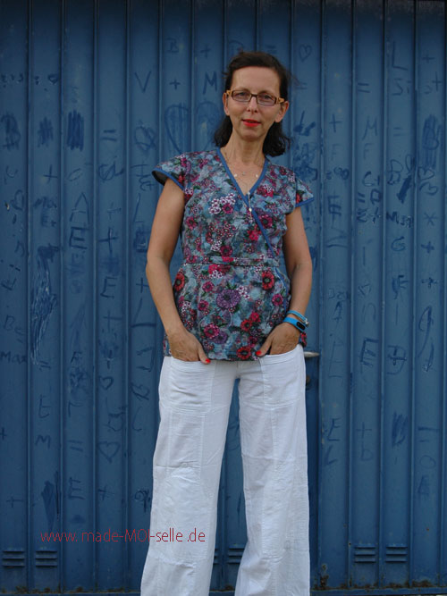 Bluse aus Jersey Fenja