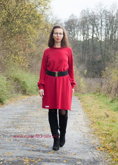 Kleid Ella in rot