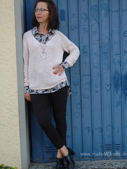 sew la la No 4/20 – Stylingideen für eine Boyfriend-Bluse