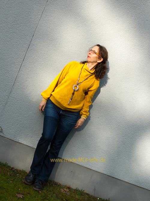 Sweater Vivi in gelb