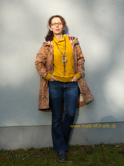 Sweater Vivi und Mantel MAcleo