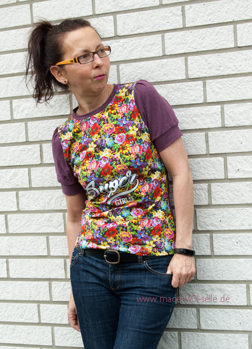 Shirt Greta mit Puffärmeln