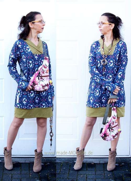 Oversize-Hoodie als Kleid
