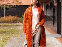 Basic Strickmantel und Sweater Finja