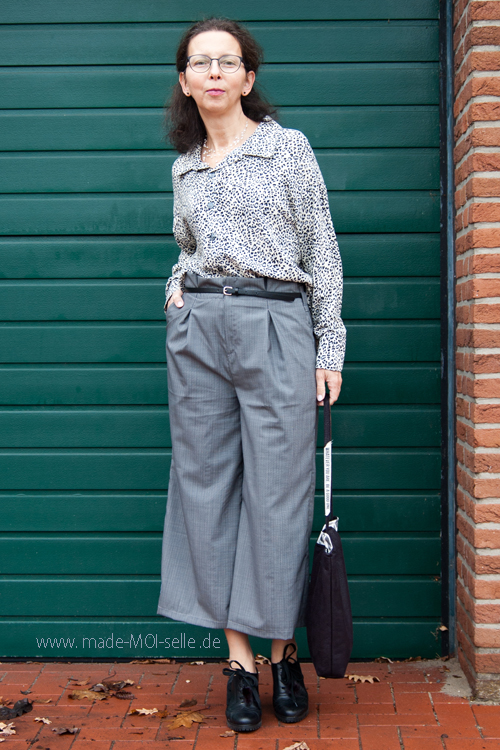 Eine Culotte als Paperbag-Hose – sew la la #69