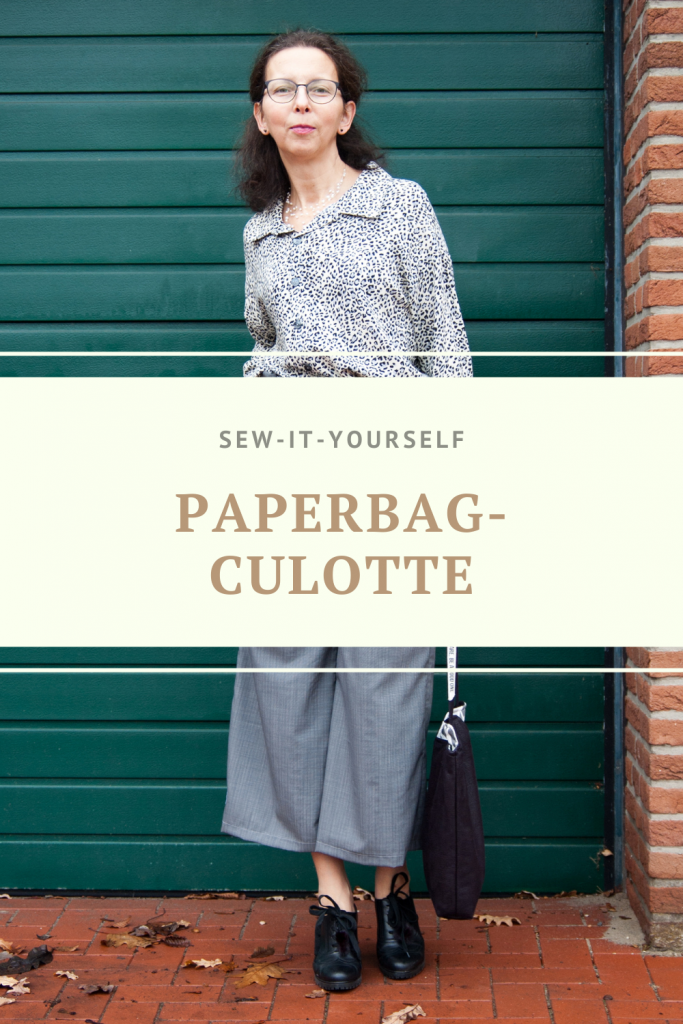 Styling-Idee Paperbag-Hose als Culotte