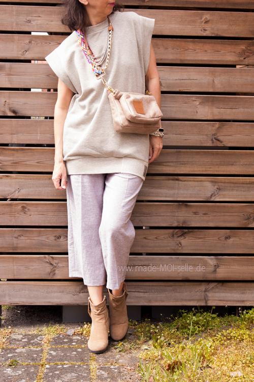 Culotte-Hose MADOC mit Shirt Fraya