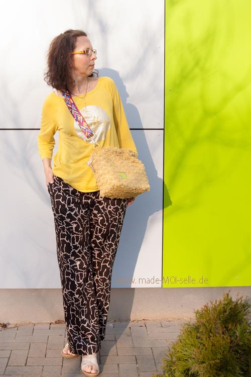 Marlene-Hose. Sitzt perfekt und ist trotzdem gemütlich –  sew la la #71