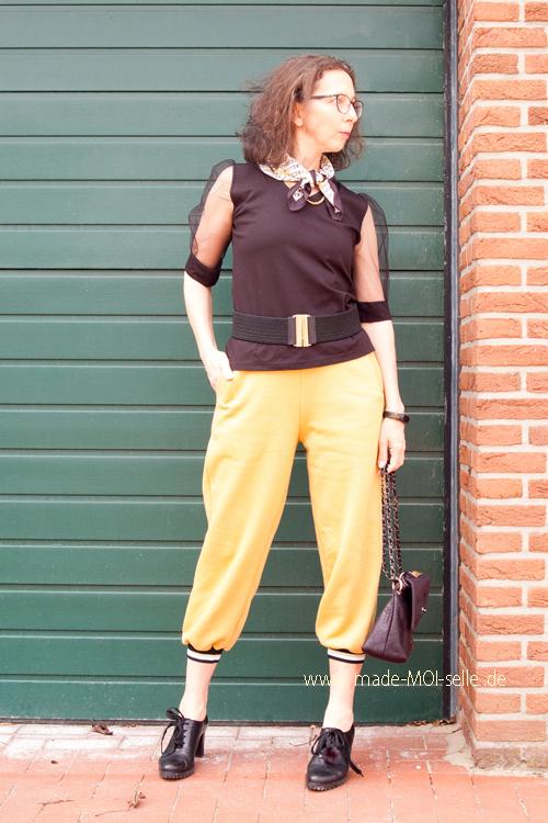 Joggingpants und Shirt Greta
