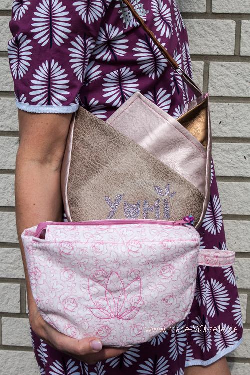 Yumi Blütentasche mit Innentasche