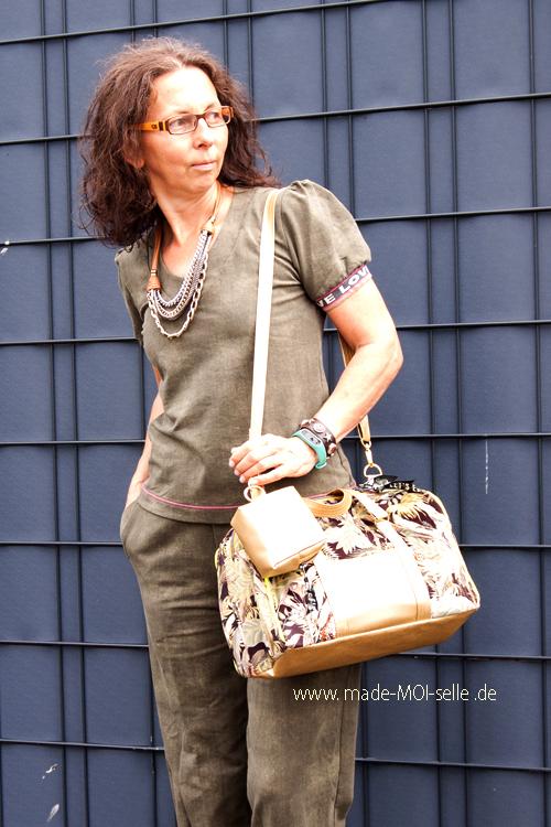 ohEddi noble: die geräumige Handtasche fürs unterwegs – sew la la #83